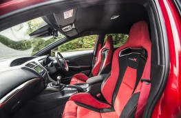 Honda Civic Type R, seats