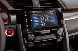 Honda Civic, 2017, display screen