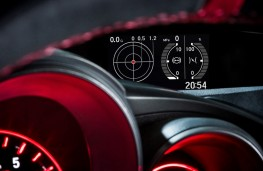 Honda Civic Type R, G-force meter