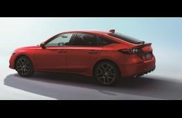 Honda Civic, 2021, rear