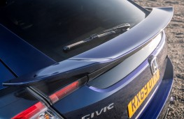 Honda Civic Sport Line, 2020, rear spoiler
