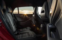Mercedes CLA Shooting Brake, rear seats
