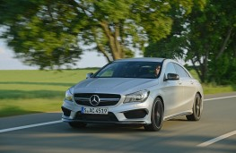 Mercedes CLA 45 AMG, front