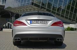Mercedes CLA 45 AMG, rear