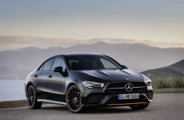 Mercedes-Benz CLA Coupe, 2019, front