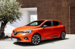 Renault Clio, 2019, front, static