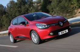 Renault Clio, front, action