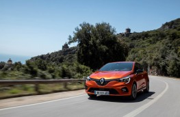 Renault Clio, 2019, front, action