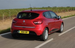 Renault Clio, rear, action