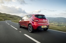 Renault Clio Signature Nav, 2017, rear, action