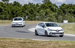Clio Renault Sport, 2016, pair, track