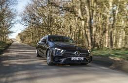 Mercedes-Benz CLS, 2018, front