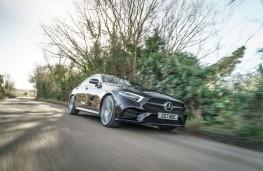 Mercedes-Benz CLS 450, 2019, front