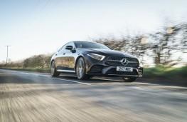Mercedes-Benz CLS 450, 2019, front, action