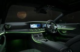 Mercedes-Benz CLS 450, 2019, interior, night
