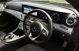 Mercedes-Benz CLS 450, 2019, interior, front