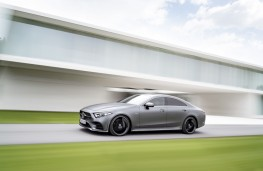Mercedes-Benz CLS, 2018, side