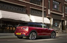 MINI Clubman, 2019, rear, action