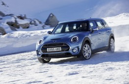 MINI Clubman ALL4, 2016, side, snow