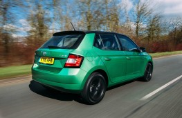 Skoda Fabia Colour Edition, rear