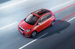 Peugeot 108 Top Collection, 2017, front