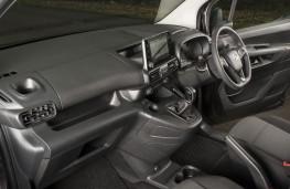 Vauxhall Combo, 2018, interior