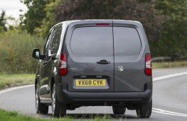 Vauxhall Combo, 2018, rear, action