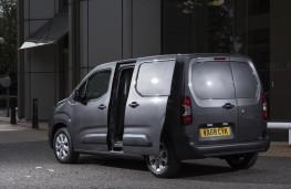 Vauxhall Combo, 2018, rear, doors open