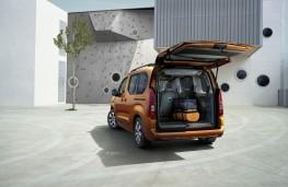 Vauxhall Combo e-Life, 2021, boot