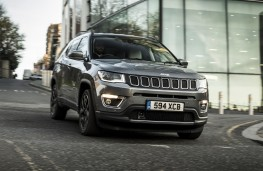 Jeep Compass, 2017, front