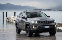 Jeep Compass Trailhawk, 2019, front, static