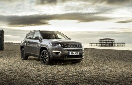 Jeep Compass, 2017, front, static