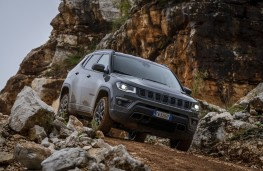 Jeep Compass Trailhawk, 2019, off road, rocks