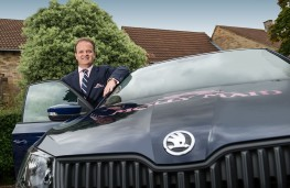 Company Car driver - Molly Maid COO, Jonathan Holden