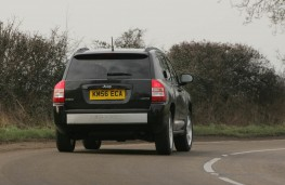 Jeep Compass, 56 plate, rear