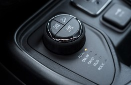 Jeep Compass Trailhawk, 2019, off road controls
