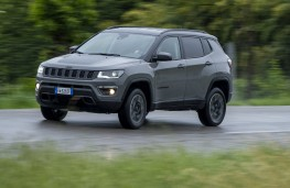 Jeep Compass Trailhawk, 2019, front