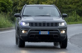 Jeep Compass Trailhawk, 2019, nose