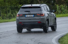 Jeep Compass Trailhawk, 2019, rear