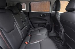 Jeep Compass Trailhawk, 2019, rear seats