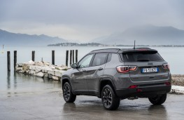 Jeep Compass Trailhawk, 2019, rear, static