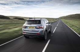 Jeep Compass, 2021, rear, action