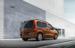 Vauxhall Combo e-Life, 2021, rear