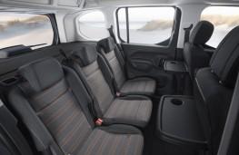 Vauxhall Combo Life, 2018, rear seats