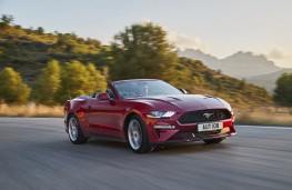 Ford Mustang Convertible, 2018, front, action