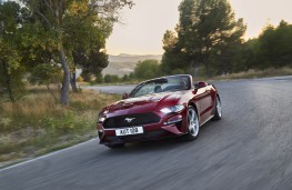 Ford Mustang Convertible, 2018, front