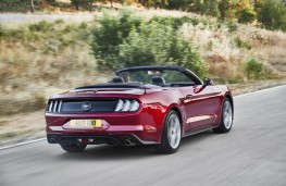 Ford Mustang Convertible, 2018, rear
