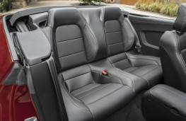 Ford Mustang Convertible, 2018, rear seats