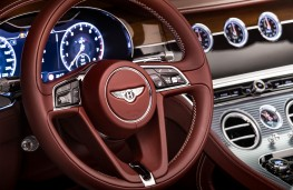 Bentley Continental GT Convertible, 2019, dashboard