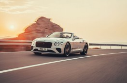 Bentley Continental GT Convertible, 2019, front
